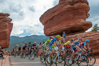 Peloton Rides by Balanced Rock