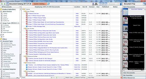 Document Navigator screenshot