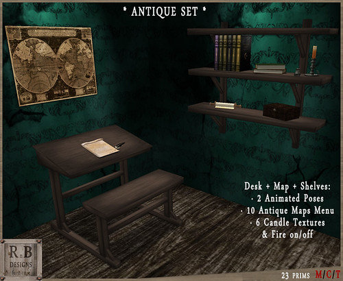 RnB Antique Set - Medieval Fantasy Hunt VI Gift