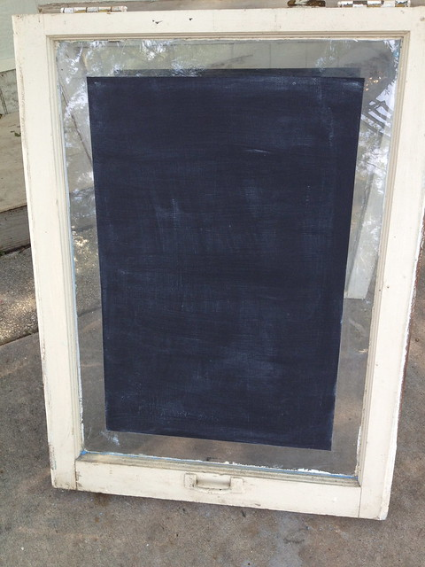 DIY upcycled sandwich board