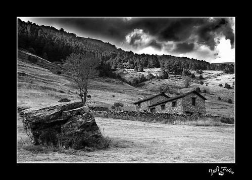 Vall d'Incles B/N (Soldeu - Andorra) -2-