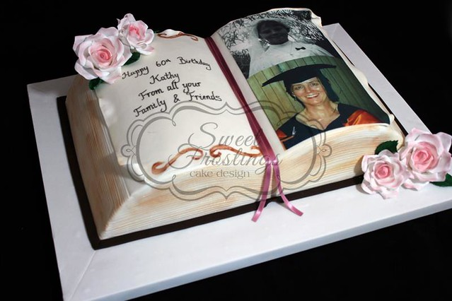 Open Book Cake Design : Open book cake Flickr - Photo Sharing!