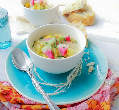 green curry corn chowder