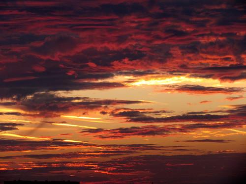 無料写真素材, 自然風景, 朝焼け・夕焼け, 空, 雲
