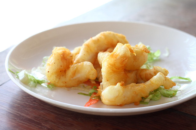 Nikoi Island: Deep Fried Calamari