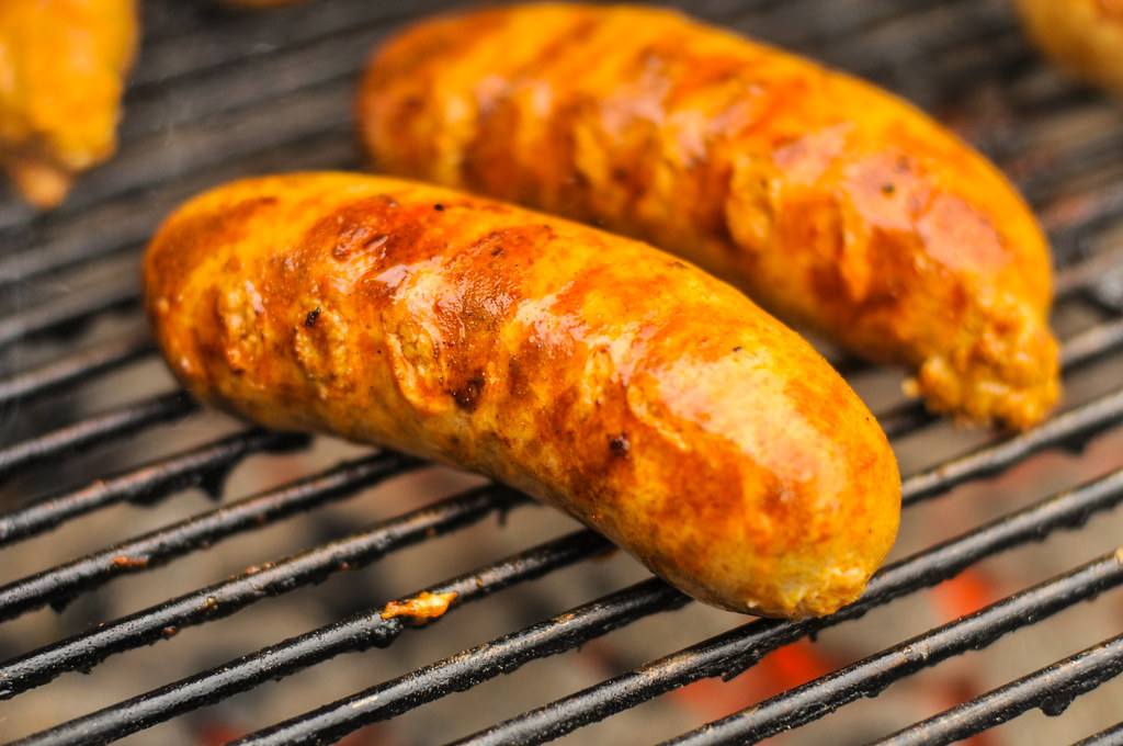 Buffalo Chicken Sausages