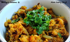 Aloo Curry (Dry)