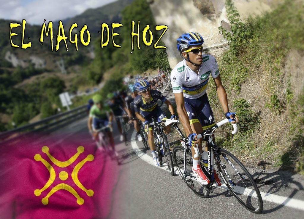 El Mago de Hoz Alber Contador se lleva la vuelta en Cantabria