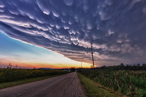 road sunset summer sky usa storm nature weather wisconsin clouds rural landscape photography evening angle image pentax wide sigma photograph fields nik 1020mm hdr 2012 k5 mammatus sigma1020mmf456exdc kohlbauer hdrefects hardpancom marckohlbauer