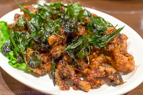 Crispy Honey Duck with Basil