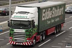 Scania R440 6x2 Tractor - PL10 KVF - Elizabeth Paula - Green & Red - Eddie Stobart - M1 J10 Luton - Steven Gray - IMG_6055