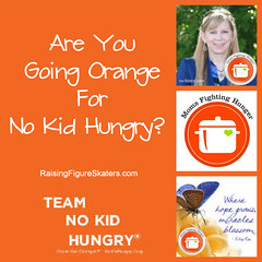 Are You Going Orange for No Kid Hungry?