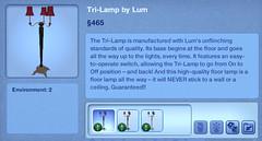 Tri-Lamp by Lum