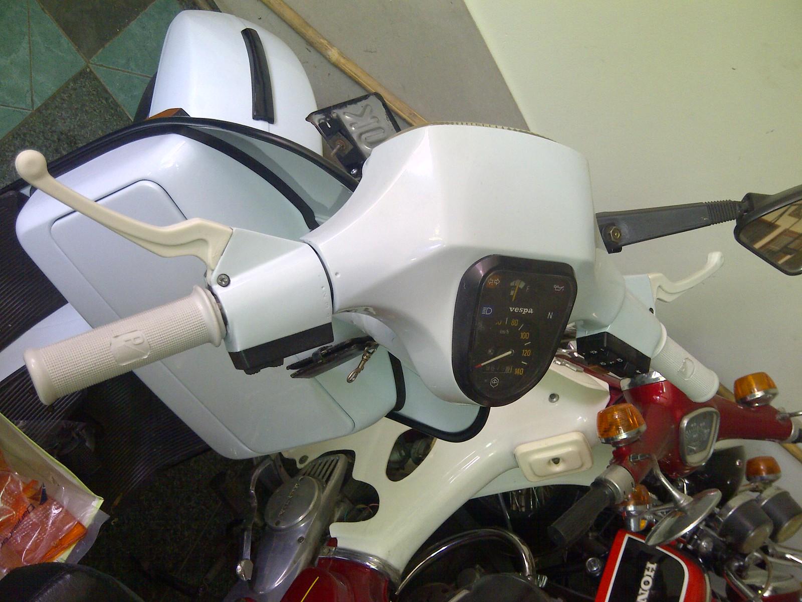 Modern Vespa My First Project Px 150 E 1989 Wiring Diagram Px150e White Ariete