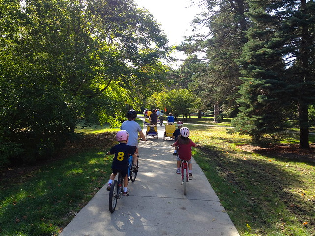 September Kidical Mass Ride