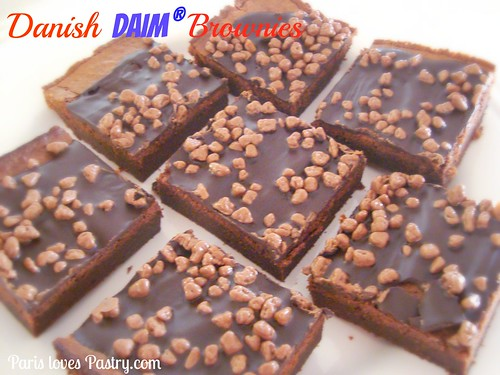 Danish Daim Brownies