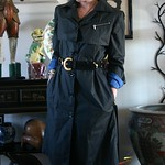 Armani Sport trench from tag sale in Roslyn