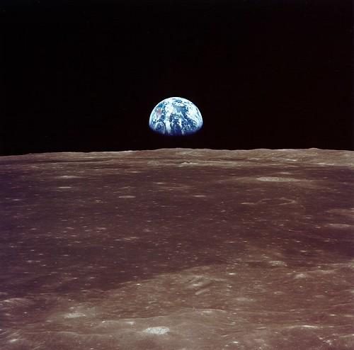 Archive: Apollo 11 Sees Earthrise (NASA, Marshall, 07/69)