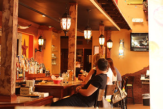 Bar Area, Don Pablo's, Sarasota, FL, Restaurant Review