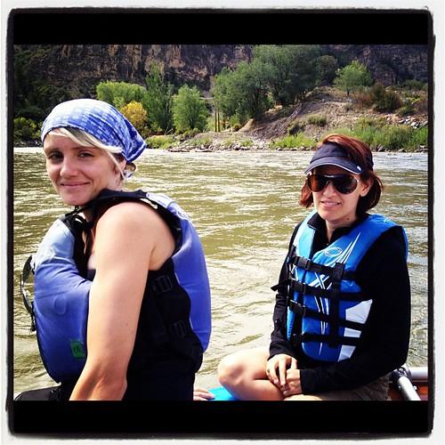 My favorite river rats // Shoshone trip