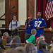 Giants speak to West Point Middle school students about Play 60
