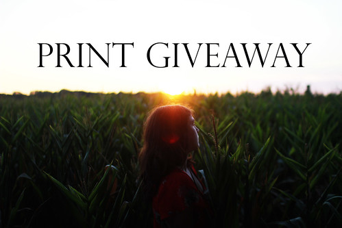 Print Giveaway! (Closed)