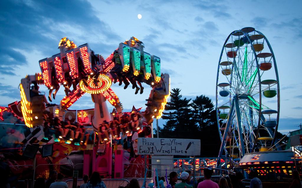 Rides At Windsor Fair Maine Chris Goldberg Flickr