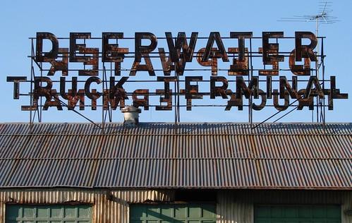 Deepwater Truck Terminal Deepwater, NJ by Seth Gaines