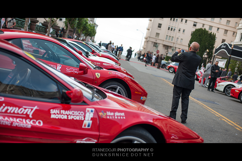 257 of 366 || 2012 Annual FOG Charity Ferrari Rally Fairmont Hotel San Francisco CA.