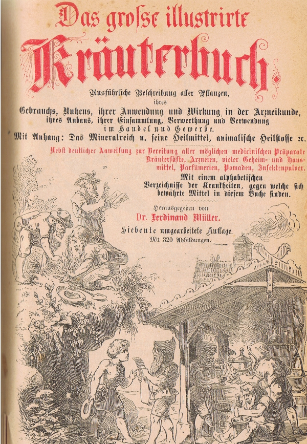 Das große illustrierte Kräuterbuch von Dr. Ferdinand Müller