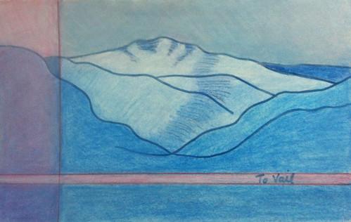 Colorado Drawings To Vail by randubnick