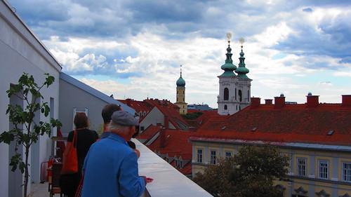 Ein Blick in Richtung Mariahilferplatz