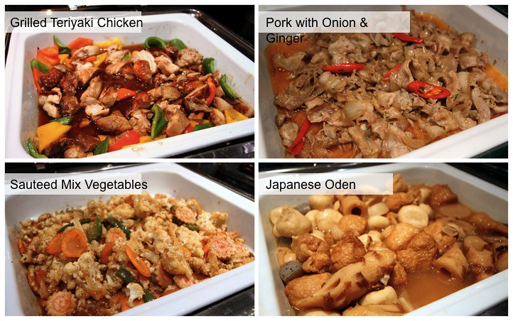 Kiseki Japanese Buffet Restaurant: Japanese Selection