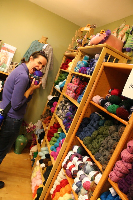 yarn shopping with lks
