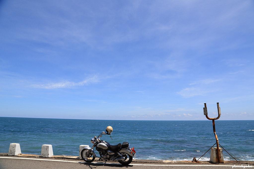 環島第五天.旭海.全台灣最靠近海的公路