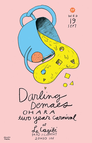 DARLING DEMAES POSTER by Ohara.Hale