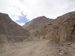 Estrada desde Murgab até Langar no Tajiquistão