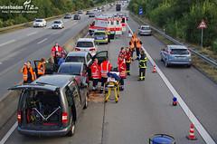 Auffahrunfall A643 17.09.2012