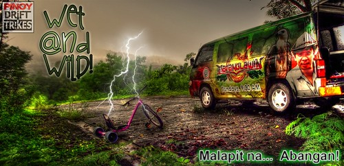 Pinoy Drift Trikes teaser for Matanglawin
