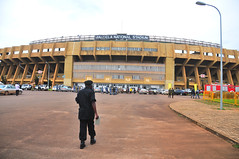 Uganda's Mandela National Stadium, commonly referred to as Namboole, and located 10 kilometres from the country's capital, Kampala, was built by the Chinese. Credit: Ronald Kabuubi/IPS