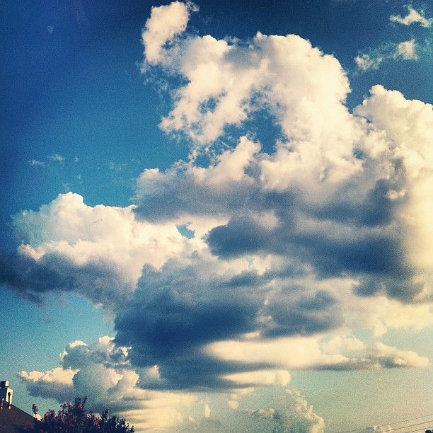 #sky #clouds #Houston #takingadrive