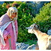 378. Old Woman and the Goat, Chaouen, Morocco by Charlottine'sPics HAPPY to be Back ...