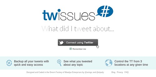 Twissues 1