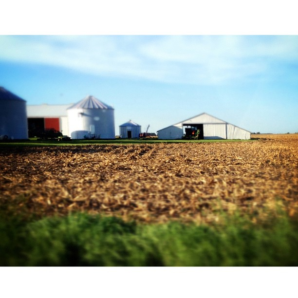 Harvest Time #barn #centralil #illinois #squaready #instamuse