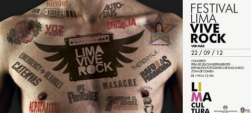 Lima vive rock - Parque de la Exposición