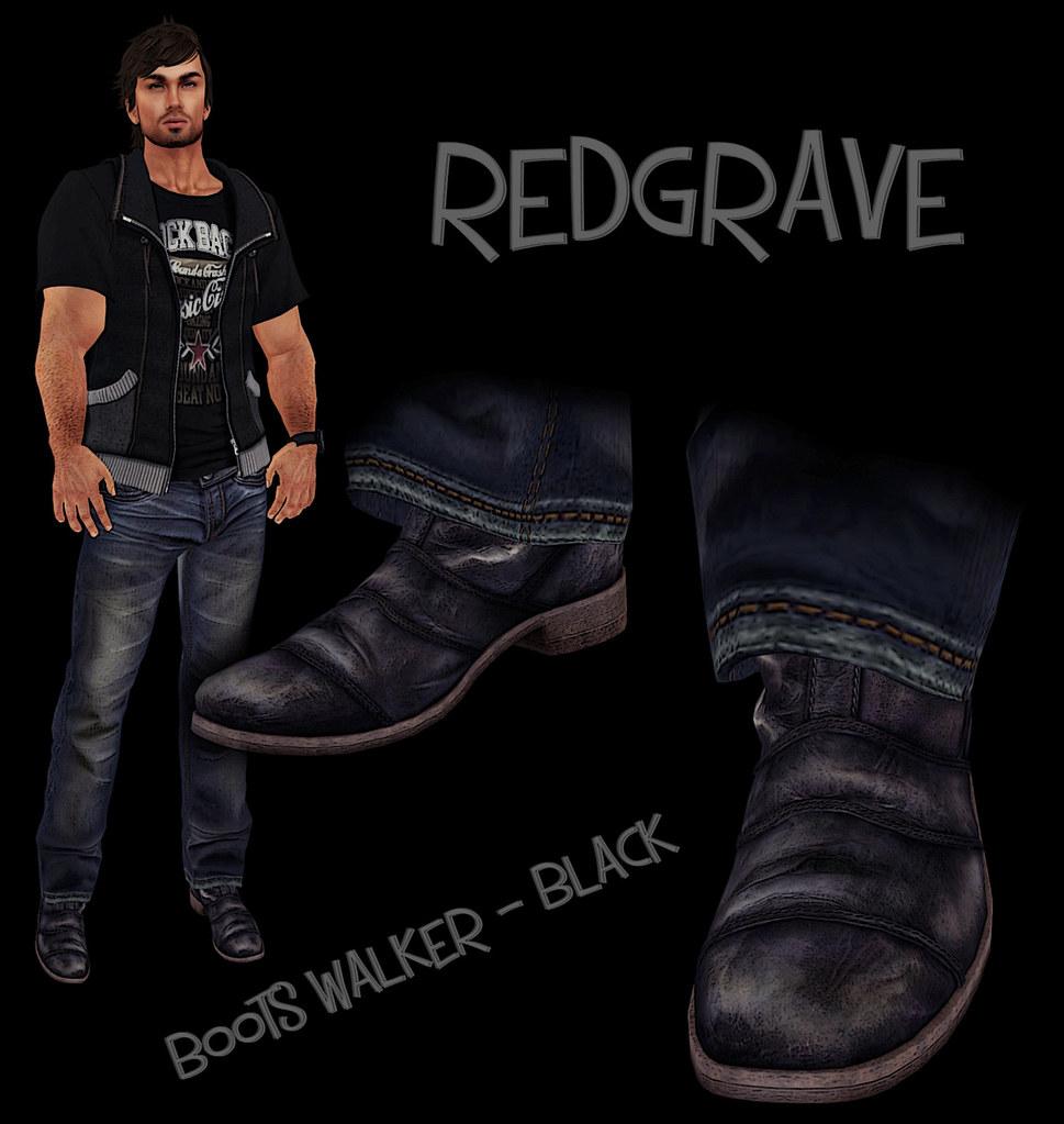 Boots Walker  REDGRAVE