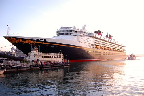 Disney Wonder Visits San Diego