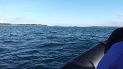 On the RIB - Heading for St Martin's via Tresco