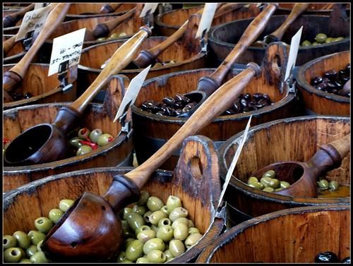 Olive Market Stall