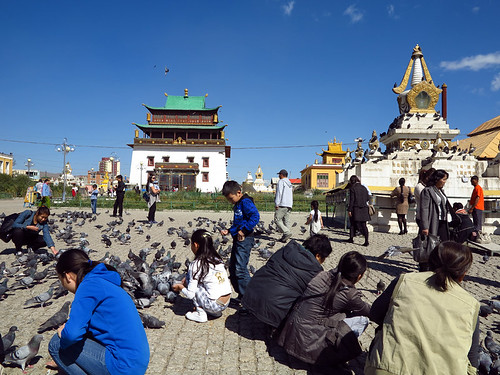 Gandan Monastery Ulaanbaatar Mongolia